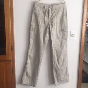 Ll bean NWTs Cargo pants fully lined 8T